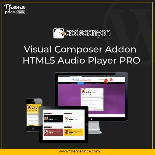 Visual Composer Addon – HTML5 Audio Player PRO