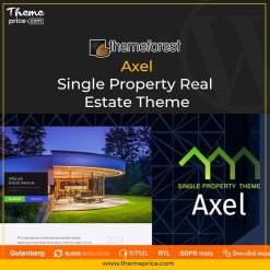Axel – Single Property Real Estate Theme