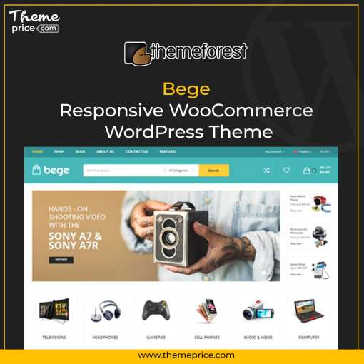 Bege – Responsive WooCommerce WordPress Theme