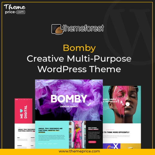 Bomby – Creative Multi-Purpose WordPress Theme