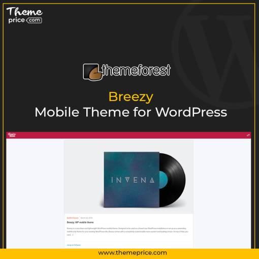 Breezy: Mobile Theme for WordPress