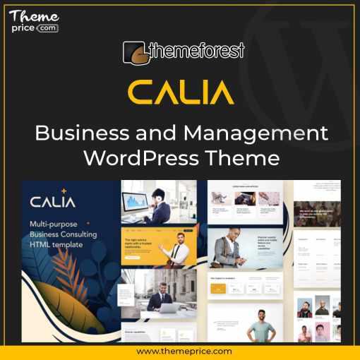 Calia – Business and Management WordPress Theme