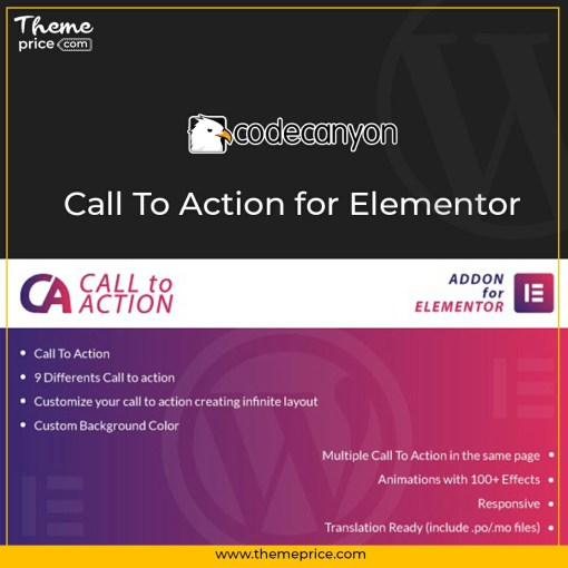 Call To Action for Elementor