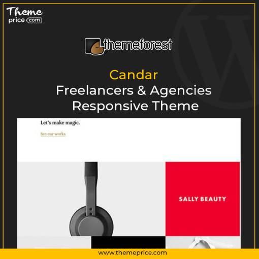 Candar – Freelancers & Agencies Responsive Theme