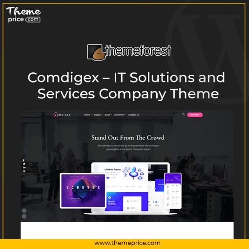 Comdigex – IT Solutions and Services Company Theme
