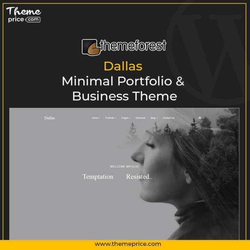 Dallas – Minimal Portfolio & Business Theme