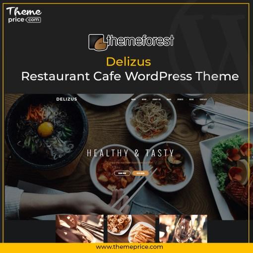Delizus | Restaurant Cafe WordPress Theme