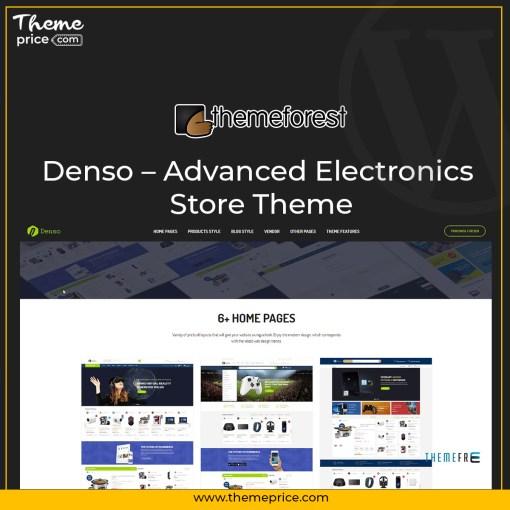 Denso – Advanced Electronics Store Theme