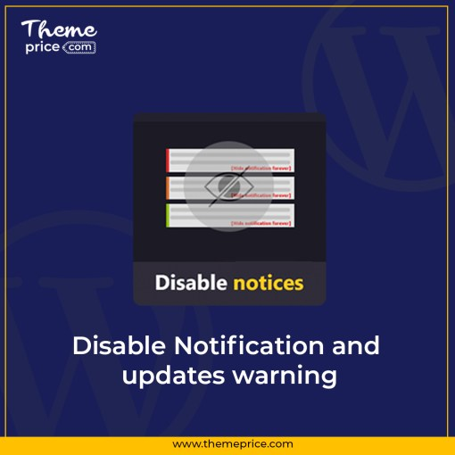Disable Notification and updates warning