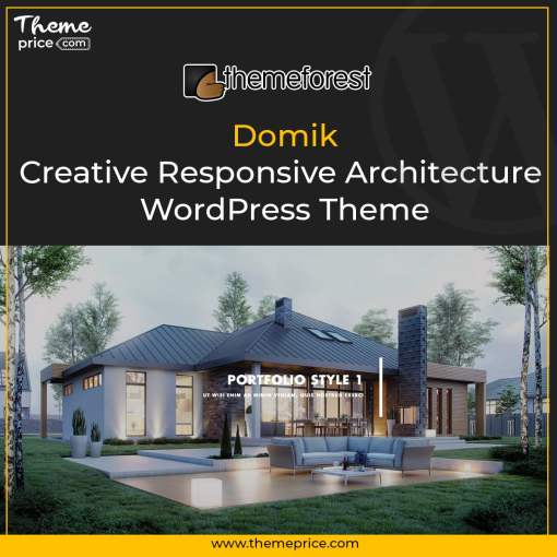 Domik – Creative Responsive Architecture WordPress Theme