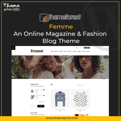 Femme – An Online Magazine & Fashion Blog Theme
