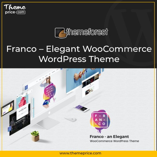 Franco – Elegant WooCommerce WordPress Theme