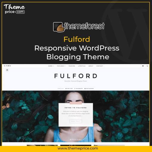 Fulford – Responsive WordPress Blogging Theme