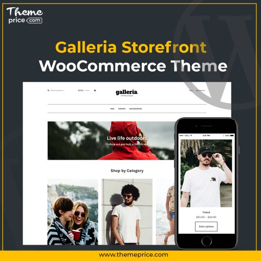Galleria Storefront WooCommerce Theme