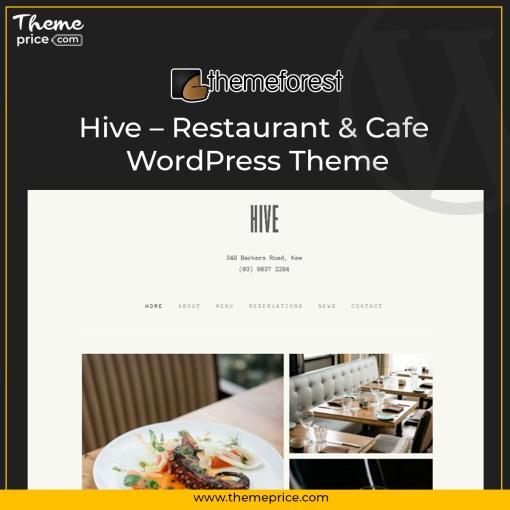 Hive – Restaurant & Cafe WordPress Theme