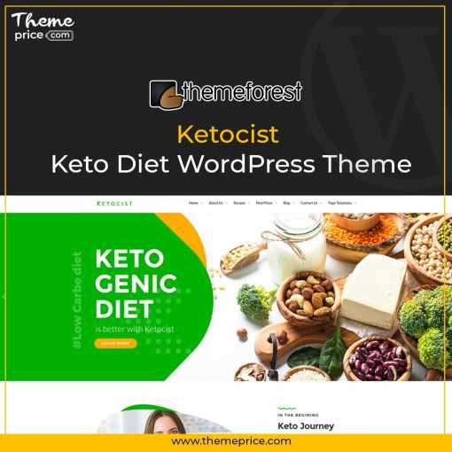 Ketocist – Keto Diet WordPress Theme-min