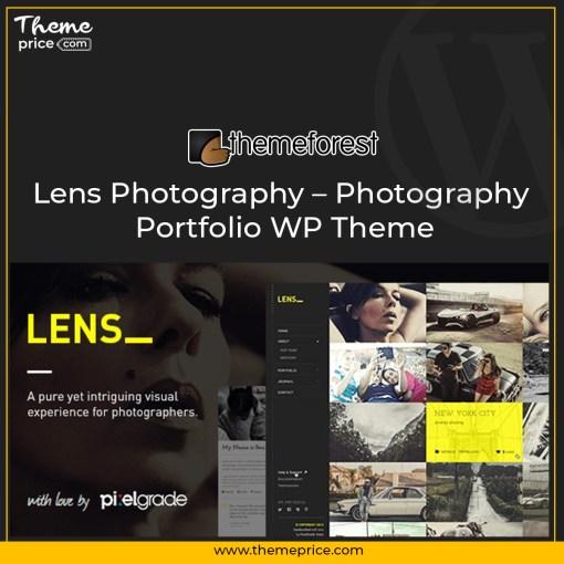 Lens Photography – Photography Portfolio WP Theme