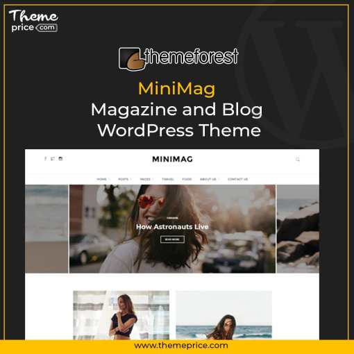 MiniMag – Magazine and Blog WordPress Theme