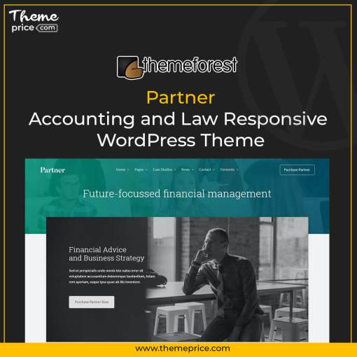Partner – Accounting and Law Responsive WordPress Theme