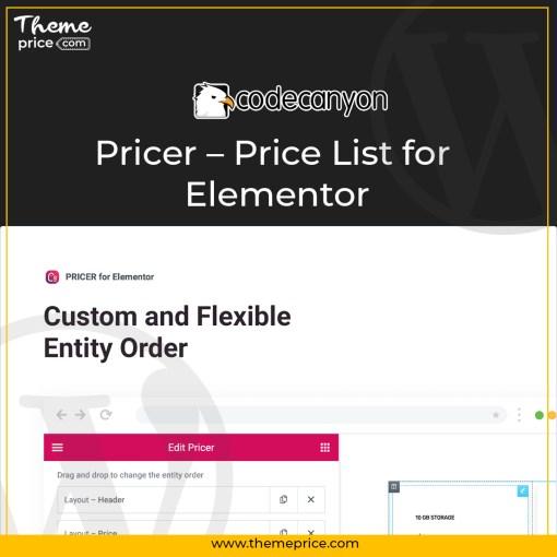 Pricer – Price List for Elementor