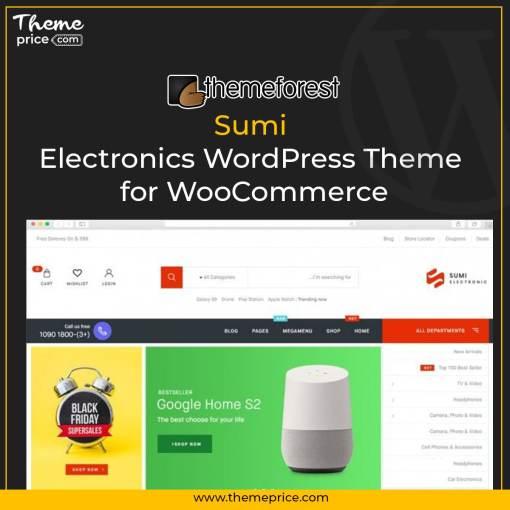 Sumi – Electronics WordPress Theme for WooCommerce