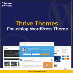 Thrive Themes Focusblog WordPress Theme