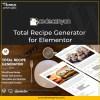 Total Recipe Generator for Elementor