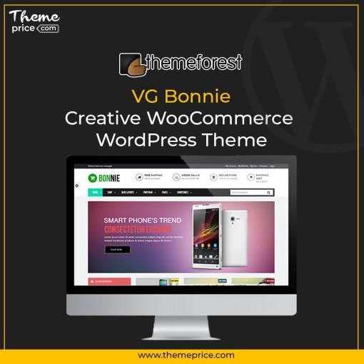 VG Bonnie – Creative WooCommerce WordPress Theme