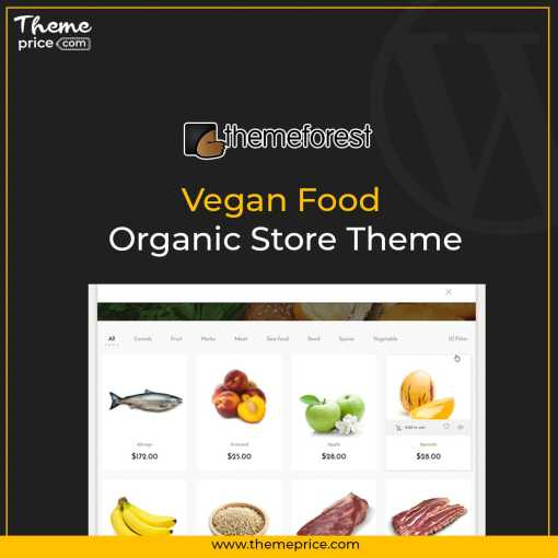 Vegan Food – Organic Store Theme