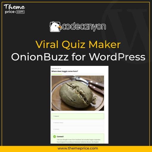 Viral Quiz Maker – OnionBuzz for WordPress