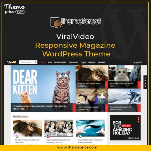 ViralVideo – Responsive Magazine WordPress Theme
