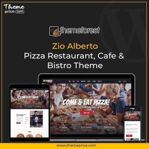 Zio Alberto | Pizza Restaurant, Cafe & Bistro Theme