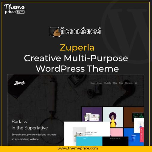 Zuperla – Creative Multi-Purpose WordPress Theme