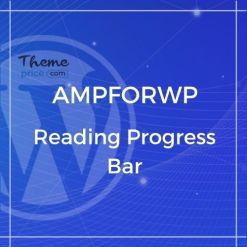 Reading Progress Bar for AMP