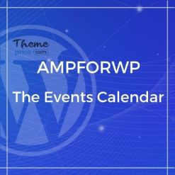 The Events Calendar for AMP