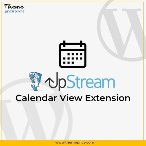 UpStream Calendar View Extension