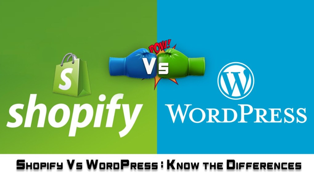 wordpress vs shopify
