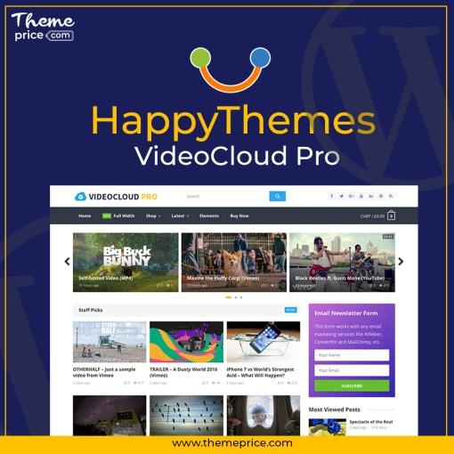 HappyThemes VideoCloud Pro
