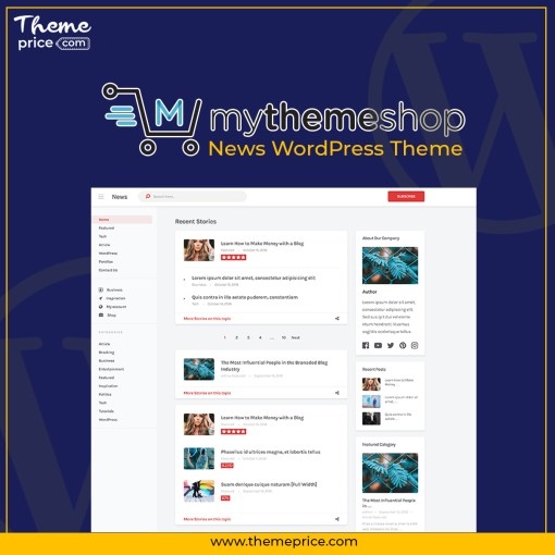 MyThemeShop News WordPress Theme