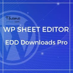WP Sheet Editor – EDD Downloads Pro