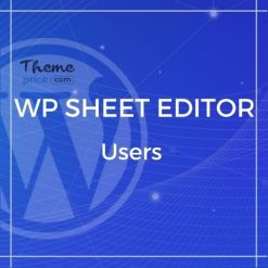 WP Sheet Editor – Users (Premium)