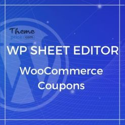 WP Sheet Editor – WooCommerce Coupons (Premium)