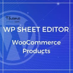 WP Sheet Editor – WooCommerce Products (Premium)