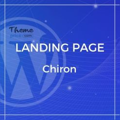 Chiron – Creative Minimal Bootstrap 4 Portfolio Template