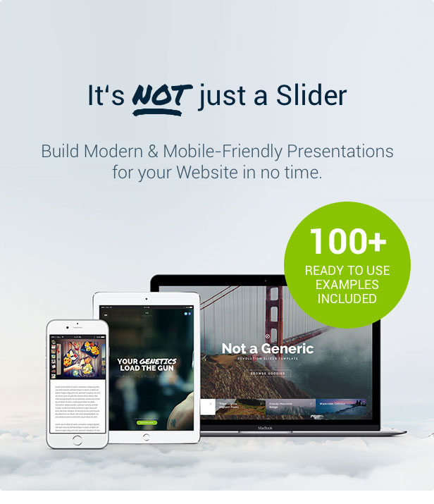 Slider Revolution Not only a shooter