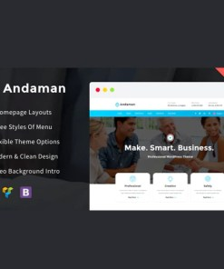 Andaman Creative & Business WordPress Theme