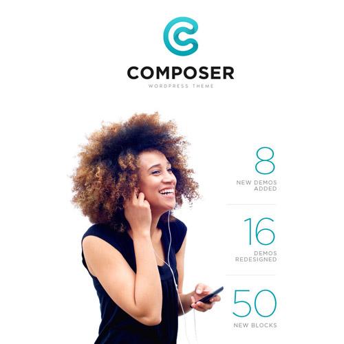 Composer Responsive Multi-Purpose High-Performance WordPress Theme