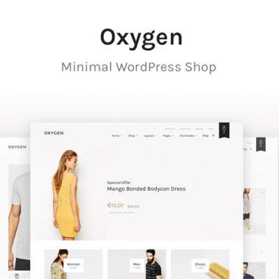 Oxygen WooCommerce WordPress Theme