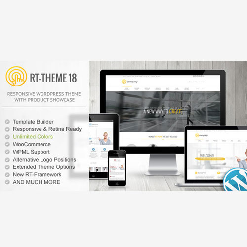RT-Theme 18 Responsive WordPress Theme