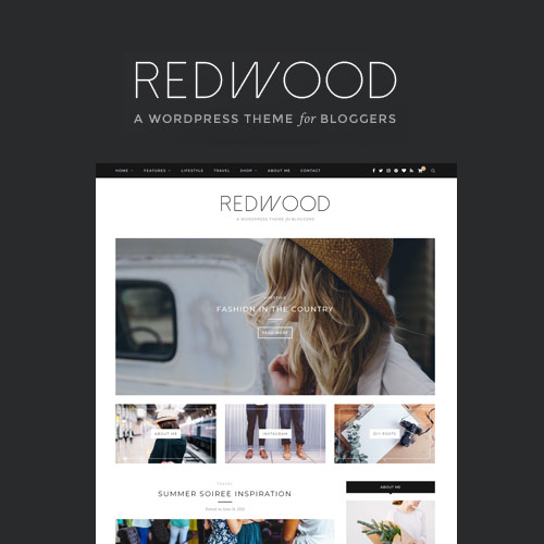 Redwood A Responsive WordPress Blog Theme
